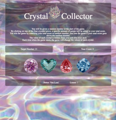 crystal-collector